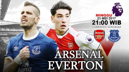 Arsenal vs Everton. - INDOSPORT