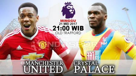 Prediksi Manchester United vs Crystal Palace. - INDOSPORT