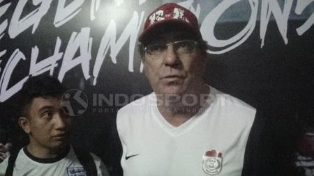 Pelatih kepala PSM Makassar, Robert Rene Alberts. - INDOSPORT