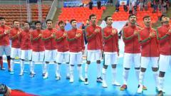 Indosport - Timnas Futsal U-20 saat menghadapi Jepang di Piala AFC Futsal U-20.