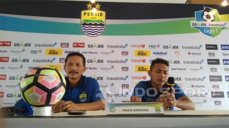 Djajang Nurdjaman, pelatih Persib Bandung. - INDOSPORT