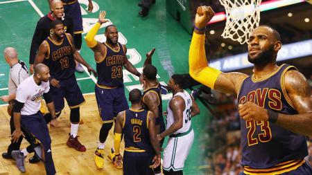 Boston Celtics vs Cleveland Cavaliers. - INDOSPORT