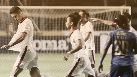 Persib Bandung vs Borneo FC. - INDOSPORT