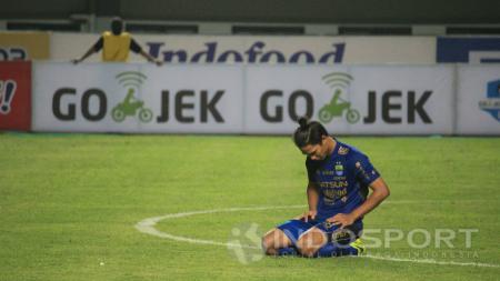Pemain Persib Bandung, Achmad Jufriyanto. - INDOSPORT