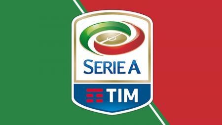 Logo Serie A. - INDOSPORT