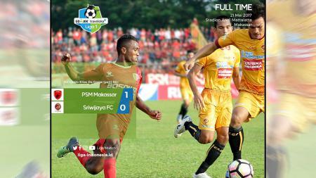 PSM Makassar vs Sriwijaya FC. - INDOSPORT