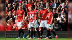 Indosport - Man United dalam laga melawan Crystal Palace.