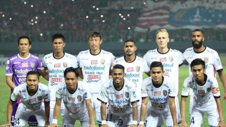 Skuat Bali United FC. - INDOSPORT