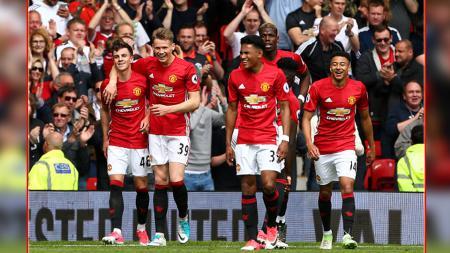 Para pemain muda Man United. - INDOSPORT