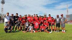 Indosport - Skuat lengkap PSM Makassar.