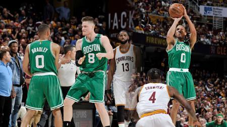 Cleveland Cavaliers vs Boston Celtics. - INDOSPORT