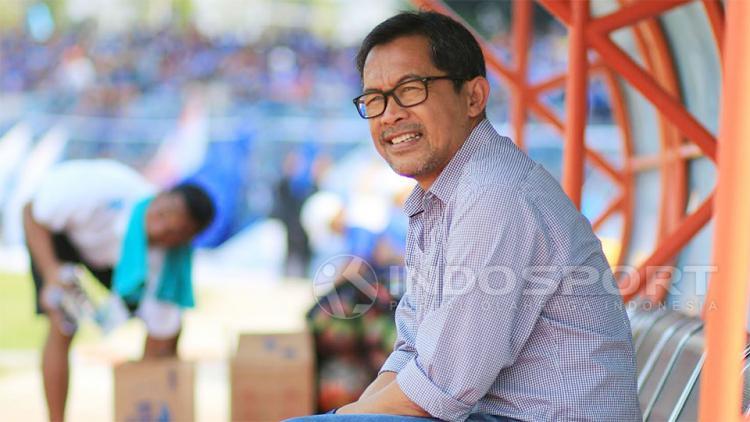 Aji Santoso sebagai Pelatih Arema FC Copyright: Ian Setiawan/Indosport
