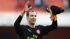 Indosport - Petr Cech akan pensiun akhir musim ini.
