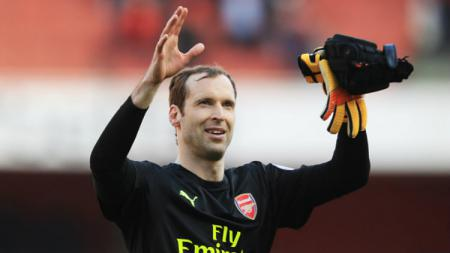 Kiper utama Arsenal, Petr Cech. - INDOSPORT