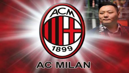 Pemilik baru AC Milan dari grup Fininvest, Han Li. - INDOSPORT