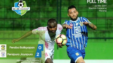 Persipura Jayapura vs Persiba Balikpapan. - INDOSPORT