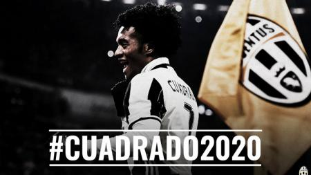 Juan Cuadrado resmi dikontrak Juventus hingga 2020. - INDOSPORT