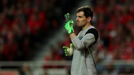 Kiper utama FC Porto, Iker Casillas. - INDOSPORT