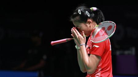 Indonesia akhirnya gagal mengirimkan wakil tunggal putri di semifinal Thailand Masters 2020. - INDOSPORT