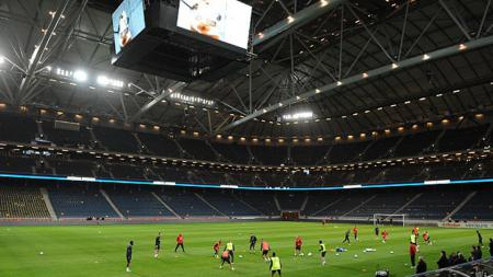 Friends Arena. - INDOSPORT