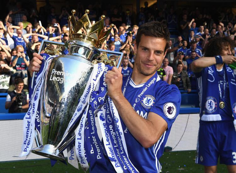 Cesar Azpilicueta, bek sayap Chelsea. Copyright: Darren Walsh/GettyImages