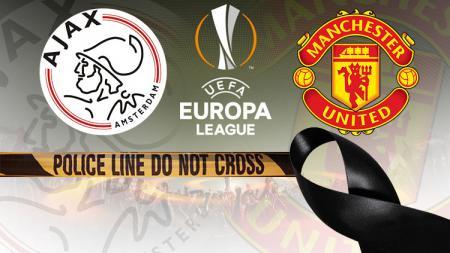Manchester United akan menggunakan ban pita hitam saat melawan Ajax pada laga Liga Europa untuk mengenang kejadian bom di Manchester Arena kemarin. - INDOSPORT