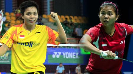 Greysia Polii/Apriani Rahayu berhasil merebut gelar juara di Thailand Open 2017. - INDOSPORT