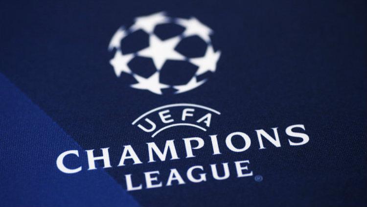 Logo Liga Champions. Copyright: MARCO BERTORELLO/AFP/Getty Images