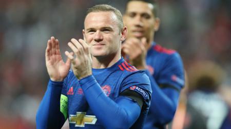 Kapten Manchester United, Wayne Rooney. - INDOSPORT