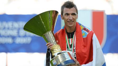 Striker andalan Juventus, Mario Mandzukic. - INDOSPORT