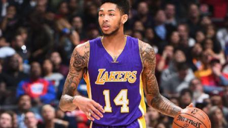 Bintang muda Los Angeles Lakers, Brandon Ingram. - INDOSPORT