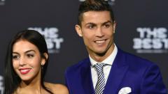 Indosport - Cristiano Ronaldo dan Georgina Rodriguez.