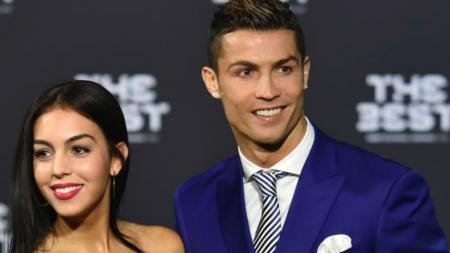 Cristiano Ronaldo dan Georgina Rodriguez - INDOSPORT