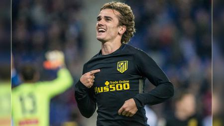 Antoine Griezmann, striker Atletico Madrid. - INDOSPORT