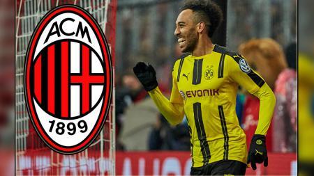 Pierre-Emerick Aubameyang, striker Borussia Dortmund. - INDOSPORT