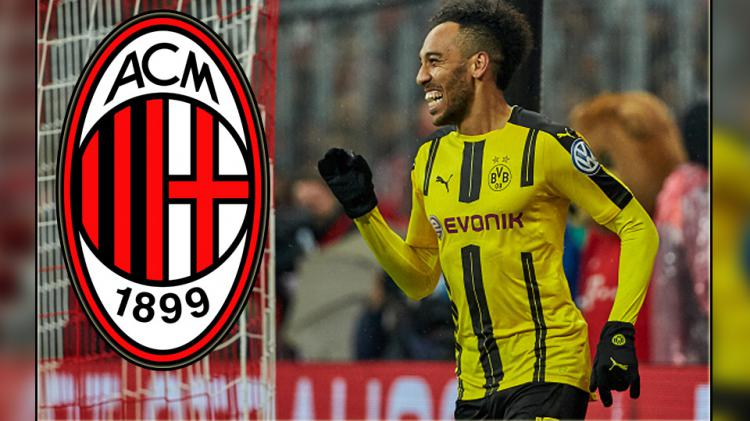Pierre-Emerick Aubameyang, striker Borussia Dortmund. Copyright: Wikimedia Commons/TF-Images/Getty Images