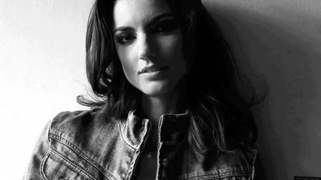 Jessiqa Pace, model iklan yang membuat para pembalap F1 GP Monaco gagal fokus. - INDOSPORT