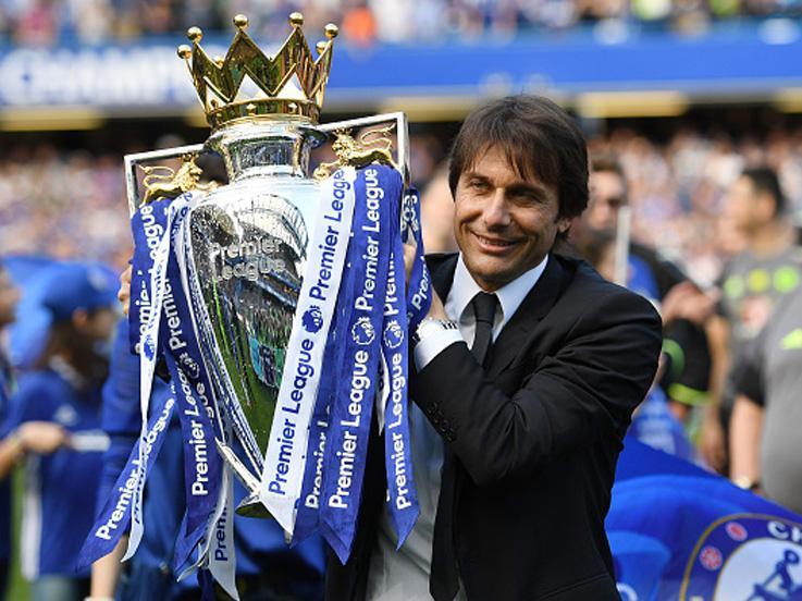 Antonio Conte, pelatih Chelsea. Copyright: Shaun Botterill/Getty Images
