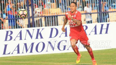 Juan Pablo Pino saat Arema FC melawan Persela Lamongan. - INDOSPORT