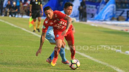 Juan Pablo Pino eks Arema FC yang saat ini karirnya hancur karena alkohol. - INDOSPORT