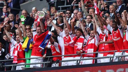Arsenal juara Piala FA 2016/17. - INDOSPORT