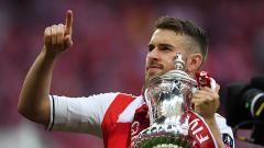 Indosport - Gelandang serang Arsenal, Aaron Ramsey.