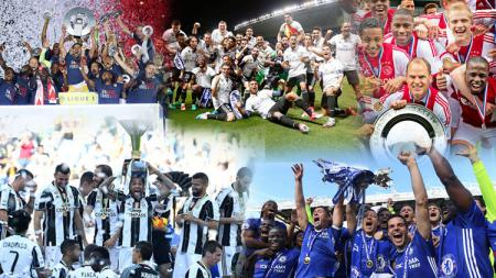 Chelsea, Juventus, Real Madrid, AS Monaco, dan Ajax Amsterdam. - INDOSPORT