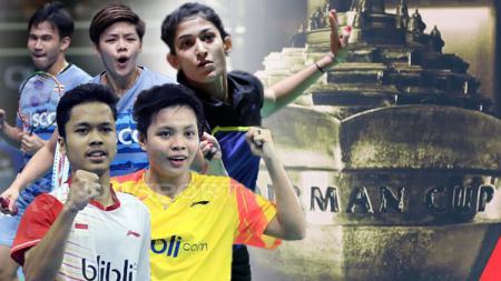 Piala Sudirman 2017. - INDOSPORT