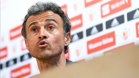 Luis Enrique mengakui jika Spanyol sedang berada dalam situasi frustrasi menyusul hasil imbang yang mereka terima dalam laga kontra Yunani. - INDOSPORT
