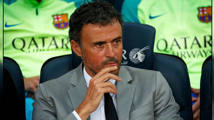 Pelatih Barcelona, Luis Enrique. Copyright: NurPhoto/GettyImages