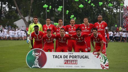 Skuat Benfica dalam Taca de Portugal. - INDOSPORT