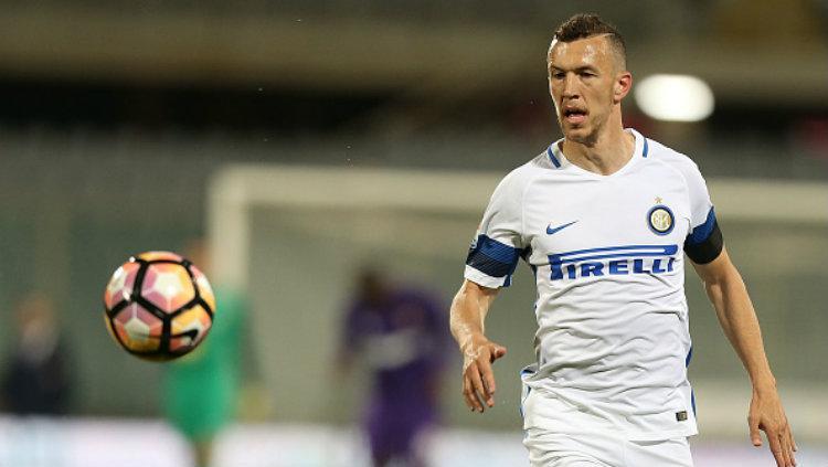 Bintang Inter Milan, Ivan Perisic. Copyright: Gabriele Maltinti/Getty Images