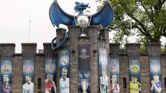 Indosport - Salah satu kawasan di Kota Cardiff, tempat penyelenggaraannya final Liga Champions 2016/17.