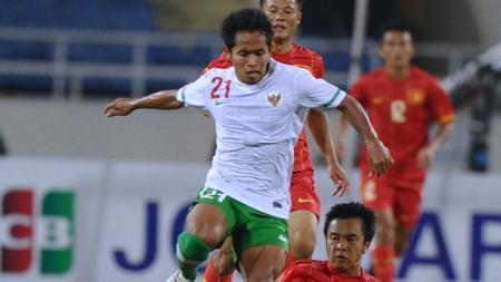 Andik Vermansah, gelandang sayap Timnas Indonesia. - INDOSPORT